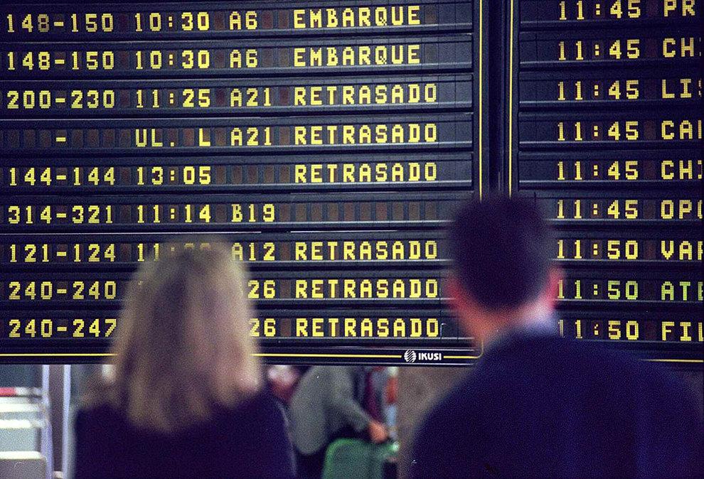 ¿que ocurre si tu vuelo se retrasa?