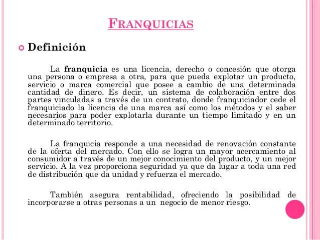 Franquicias Málaga Abogados
